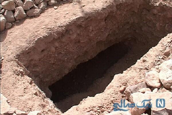 کشف محتویاتی عجیب در قبر یک زن خبرساز شد!