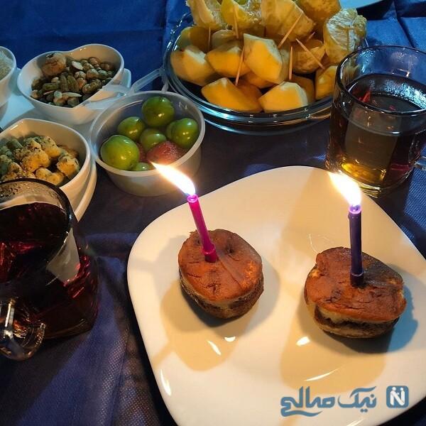 جشن تولد لیلا برخورداری