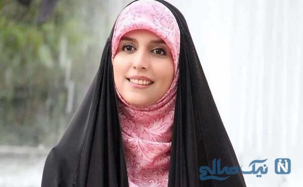 مژده لواسانی مجری جوان با حجاب خاص خودش در شیراز