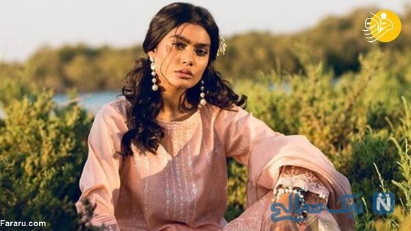 مدل معروف پاکستانی