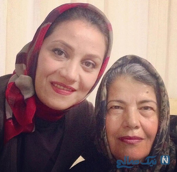 شبنم مقدمی و مادرش