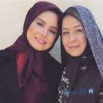 عکس های جالبی از بازیگران ایرانی به همراه مادرشان