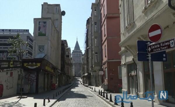 اتفاق عجیب در یکی از خیابان های قرنطینه استانبول