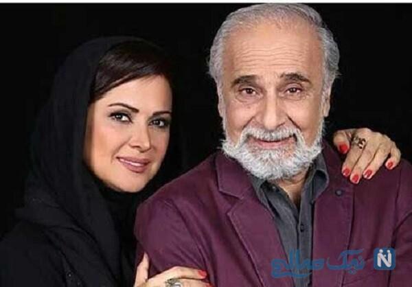 سعید امیرسلیمانی و دخترش