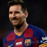 تصویری از ظاهر جدید لیونل مسی بعد از قرنطینه در تمرینات بارسلونا