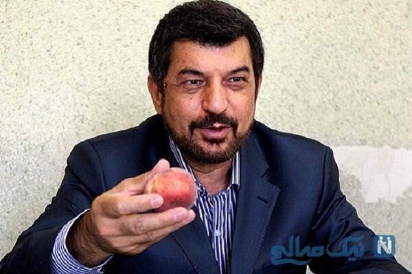 محمود شهریاری مجری کرونا گرفت و در بخش مراقبتهای ویژه است