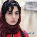 مهشید جوادی بازیگر نقش مرضیه سریال بچه مهندس بدون چادر