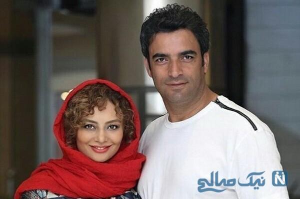 منوچهر هادی و همسرش یکتا ناصر