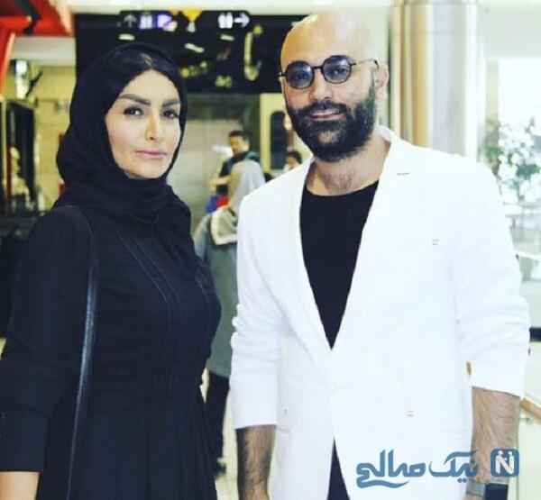 مهدی کوشکی و همسر سابقش