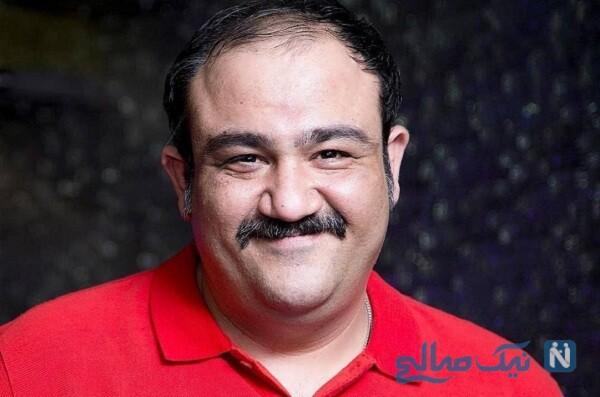 مهران غفوریان بازیگر معروف و همسرش در قرنطینه خانگی