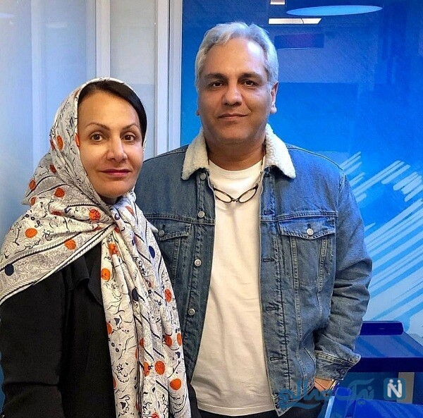 مهران مدیری و همسرش