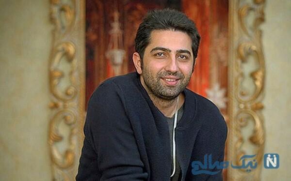 علی سخنگو و مهرآوه شریفی در پشت صحنه سریال دل