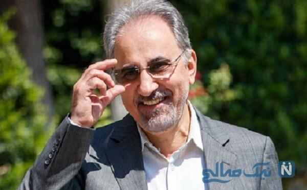 چهره جدید محمدعلی نجفی، شهردار سابق تهران پس از چند ماه بازداشت