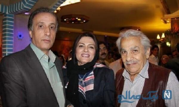 محمدرضا حیاتی و همسرشحیاتی و همسرش