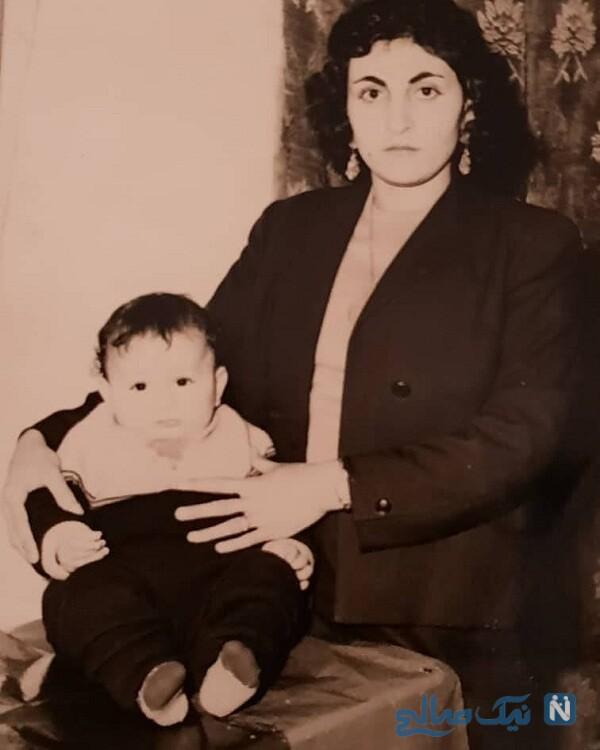 مرجانه گلچین عکسی از مادر و برادر مرحومش در ۲۹ سالگی را منتشر کرد