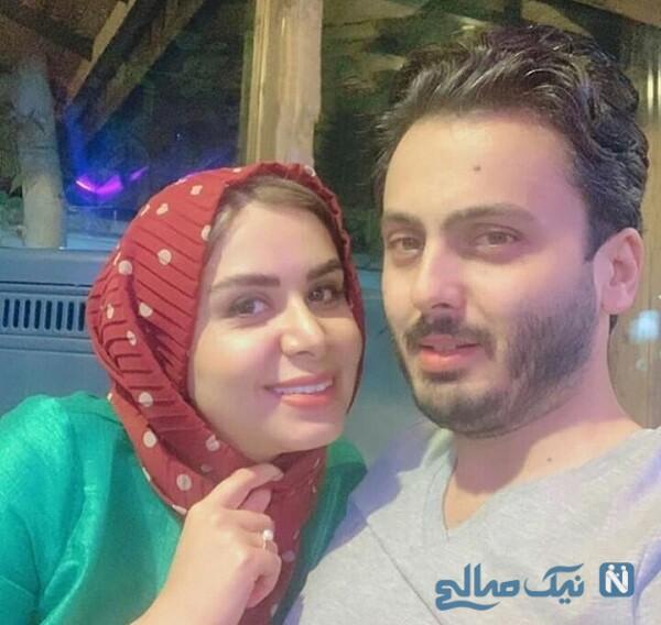 عکس جدید نجمه جودکی و همسرش