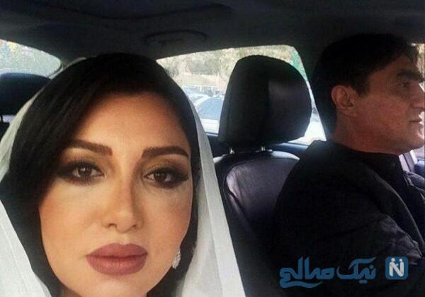 ناصر محمدخانی وهمسرش