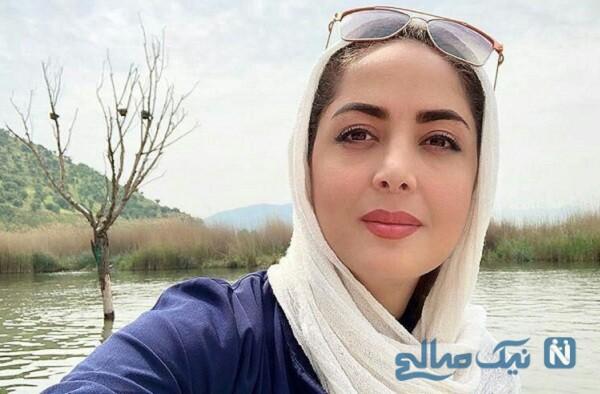 عکس های زیبای لیلا سعیدی در طبیعت بعد از روزها قرنطینه