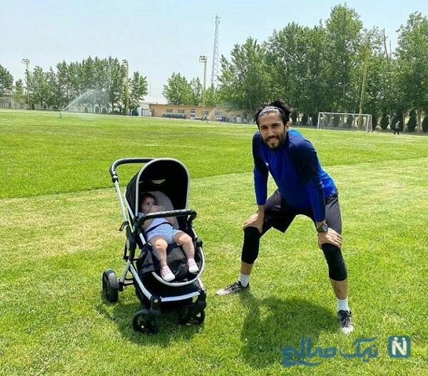 حسین حسینی ودخترش