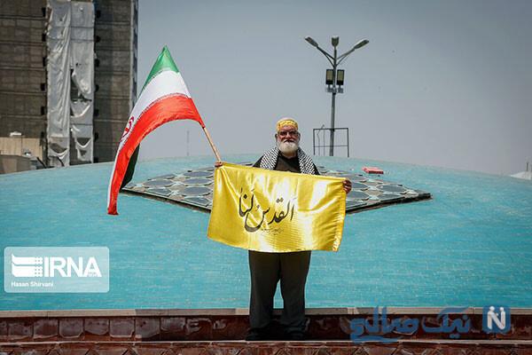 برگزاری خودجوش مراسم روز جهانی قدس در تهران , ببینید