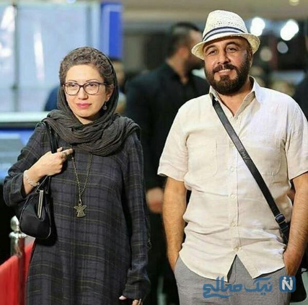 تصویری از رضا عطاران و همسرش