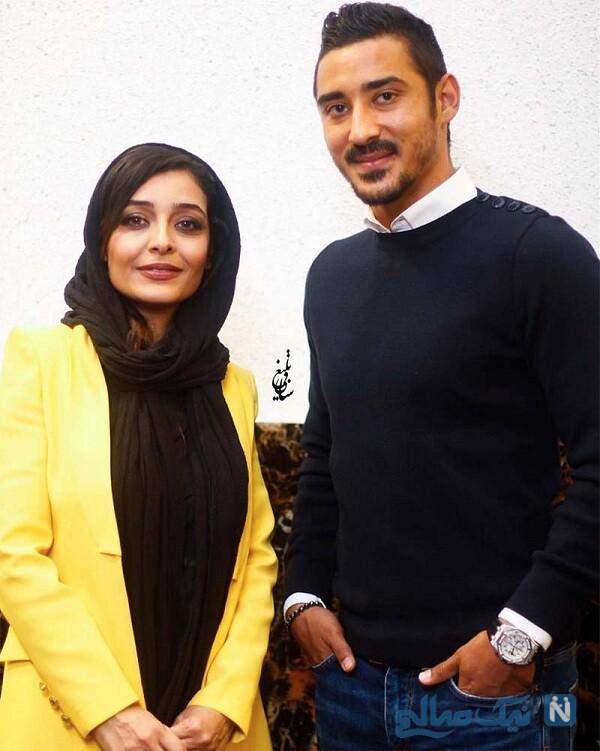 رضا قوچان نژاد و همسرش