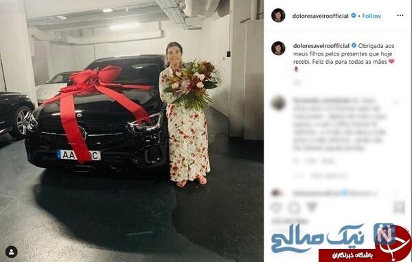 هدیه رونالدو به مادرش