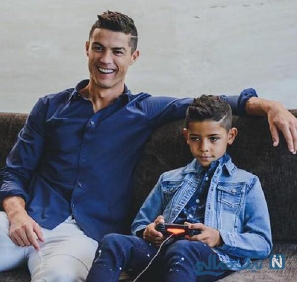 رونالدو و پسرش