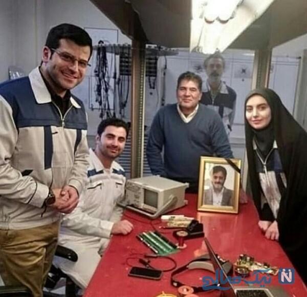روزبه حصاری و مهشید جوادی در سریال بچه مهندس