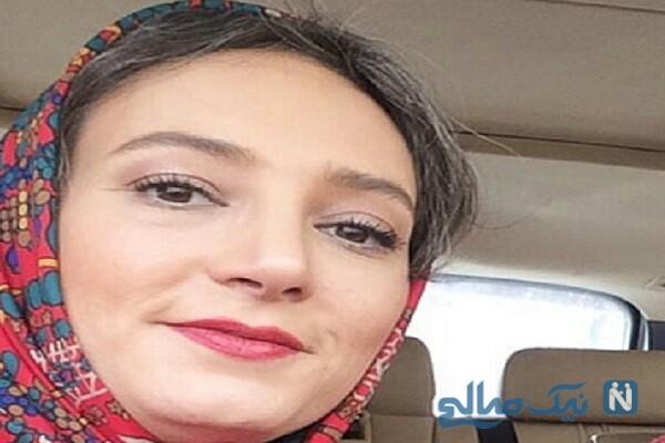 عکسی که نیما فلاح از چهره ی بدون آرایش سحر ولدبیگی گرفت