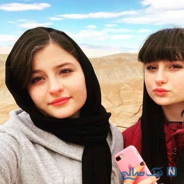 عکس جدید سارا و نیکا بازیگر پایتخت