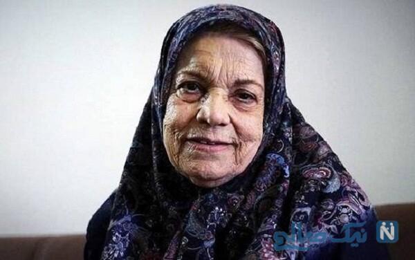 صدیقه کیانفر بازیگر معروف و باسابقه زن ایرانی درگذشت