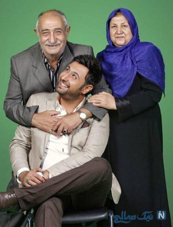محمد علیزاده و پدر و مادرش