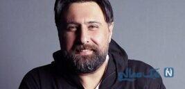 محمد علیزاده خواننده پاپ با تیشرت و کلاه خاص