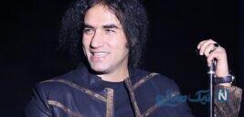 رضا یزدانی خواننده پاپ در کنار همسر و دخترش