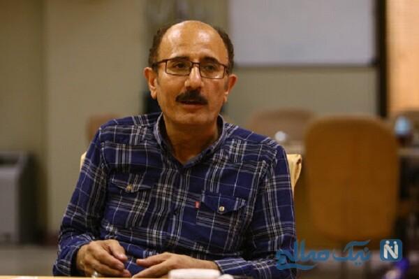 سیروس سپهری بازیگر نقش ادریس سریال نون خ و دخترش