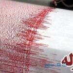 زلزله تهران از یک دوربین مدار بسته که بخوبی ثبت شده
