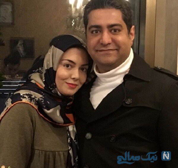 خانم مجری و همسرش