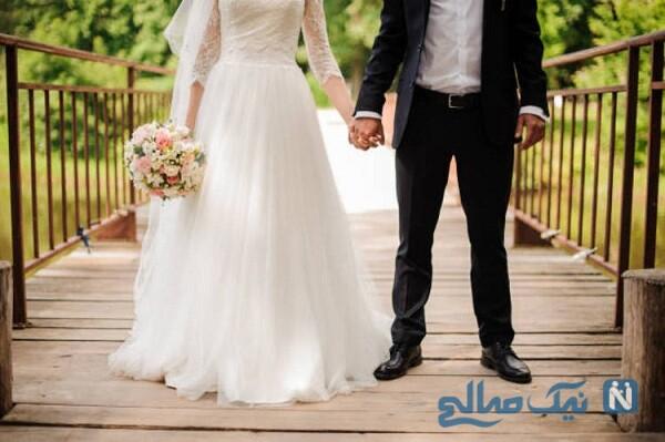 جشن عروسی متفاوت آزاده فلسطینی در روزهای کرونایی