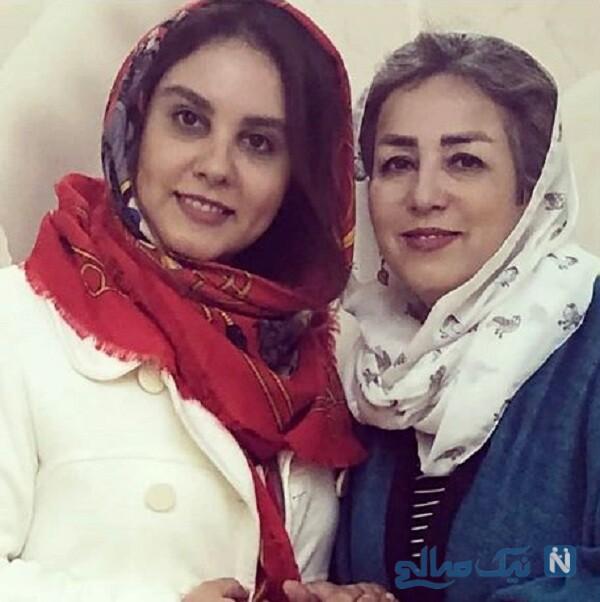 همسر و دختر اکبر عبدی