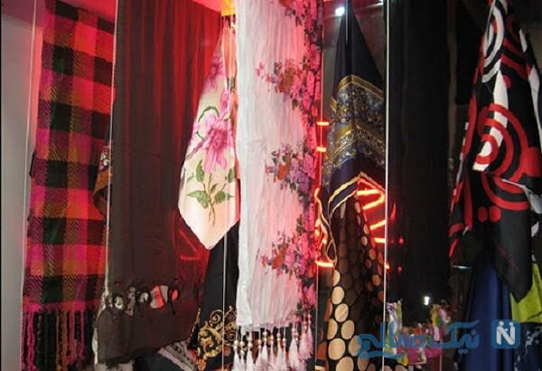 آواز جنجالی و پر از احساس جوان دستفروش روسری در بازار تهران