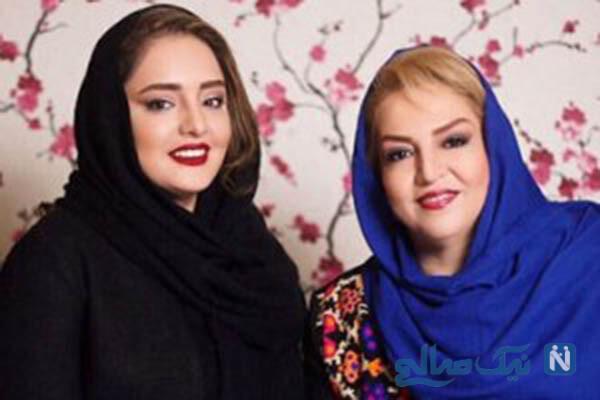پیام تبریک علی اوجی برای تولد مادر همسرش نرگس محمدی
