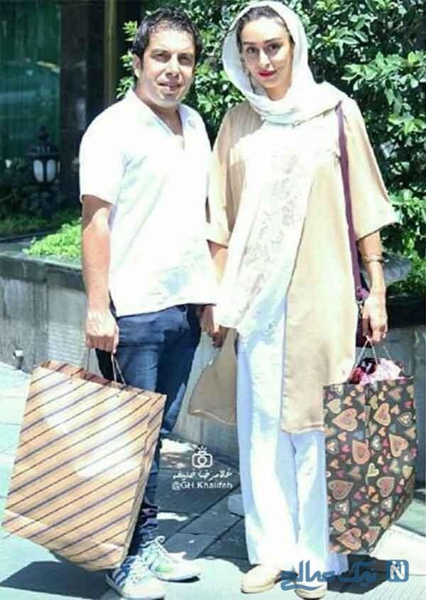 تصویری از عباس جمشیدی فر و همسرش