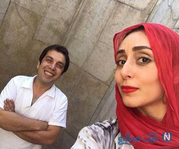 عکس جدید عباس جمشیدی فر و همسرش