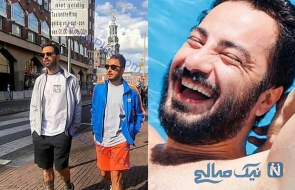 نوید محمدزاده و تیپ بازیگران در خارج از کشور