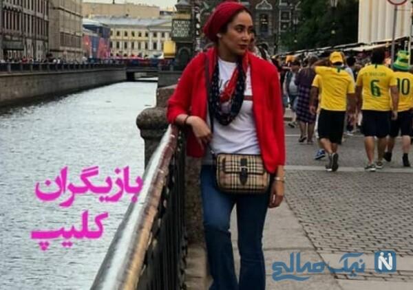 بهاره کیان افشار و تیپ بازیگران در خارج از کشور