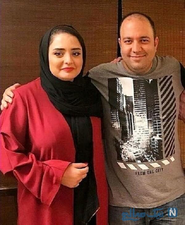 علی اوجی و همسرش و تیپ بازیگران در خارج از کشور