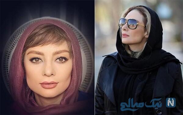 یکتا ناصر بازیگر سریال دل
