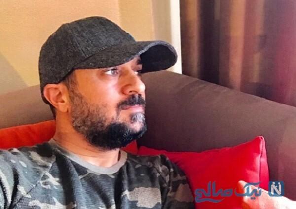 جشن ازدواج احمد مهران فر و همسرش در اکران فیلم خجالت نکش