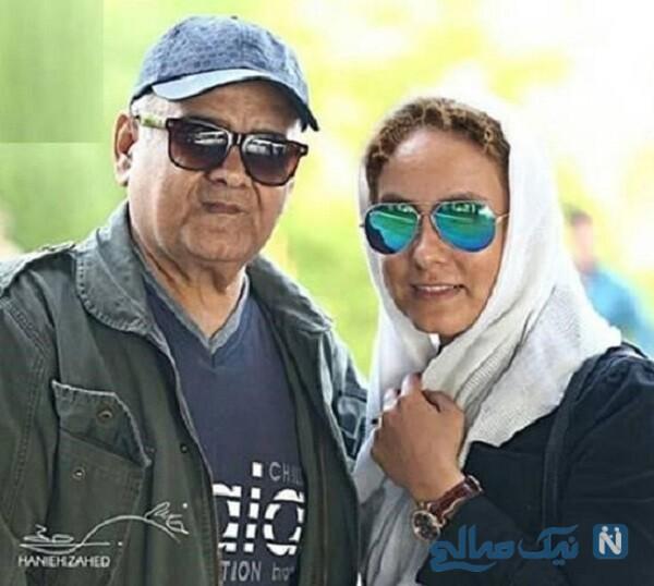 المیرا عبدی و پدرش